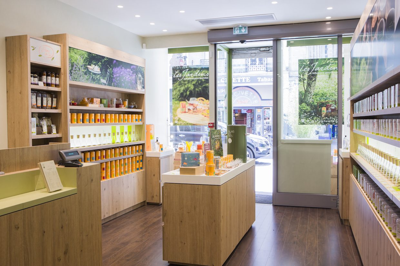 boutique Palais des thes saga agencement